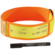 Collare Niggeloh Riflettente Orange Yellow 38/58