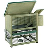 Ferplast Ranch 100 Conigliera da Esterno per Fattrice