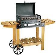 Barbecue a Gas Ferraboli Roccia Lavica