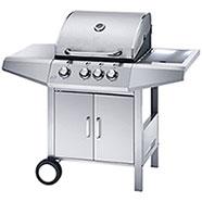 Barbecue a Gas Ferraboli Top Inox