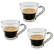 Set 3 Tazzine da Caffè o Punch Bormioli