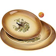 Servizio Piatti Ceramica Country per 6 Persone