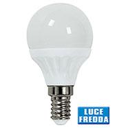 Lampadina Led Globo 3,5W Attacco E14 Luce Fredda