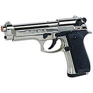 Pistola a Salve Beretta 92 Calibro 9 Nickel Bruni