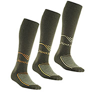 Set 3 Calze uomo Long Hunting Green