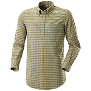 Camicia Beretta Seersucker Travel Light Green