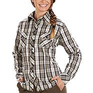 Camicia Kalibro Charlotte Light Brown Lady