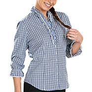 Camicia Quadretti donna  Arnis