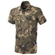 Camicia Hide New Camo Green Short Sleeve