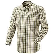 Camicia Beretta Drip Dry Green Beige Check