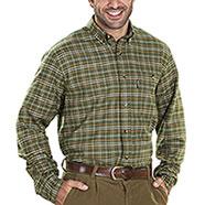 Camicia flanella Kalibro Boar Flannel Green