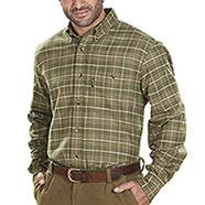 Camicia flanella Kalibro Deer Flannel Green