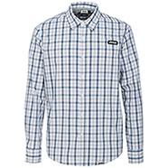 Camicia Jeep ® Cotton Check Light Grey/Indigo original