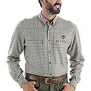 Camicia regular fit Kalibro Fleece   Beige
