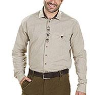 Camicia Alpen Prestige Eichenblatt Beige