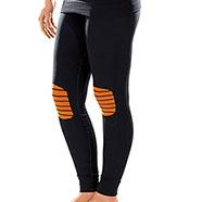 X-Bionic Energizer Black/Orange Lady calzamaglia
