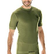 Maglia termica verde Beretta Tech-T