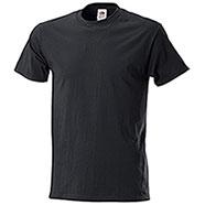 T-Shirt Fruit of the Loom Black