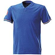 """T-Shirt Italia Collo """"V"""" Royal"""
