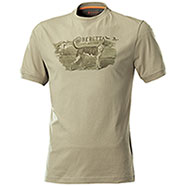 T-Shirt Beretta Hunting Dog Sand