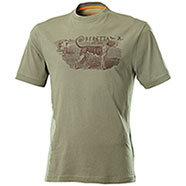 T-Shirt Beretta Hunting Dog Ivy Green