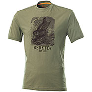 T-Shirt Beretta Woodcock Dark Olive
