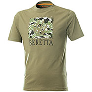 T-Shirt Beretta Sport Safari Dark Olive