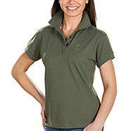 Polo Donna Beretta Corporate Green Leaf