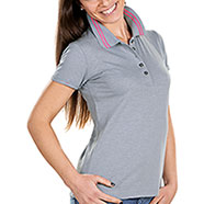 Polo Donna Tenerife Fire Effect