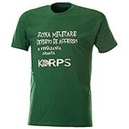T-Shirt Sorveglianza Armata Green