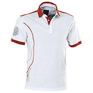 Polo Beretta Uniform Pro White-Red
