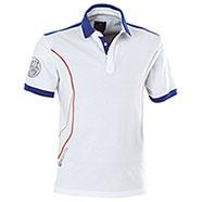 Polo Beretta Pro Uniform White-Blue