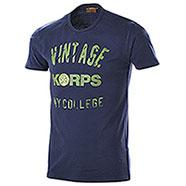 T-Shirt Vintage Korps Blu