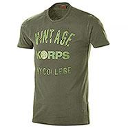 T-Shirt Vintage Korps Green