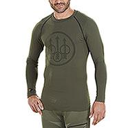 Maglietta Intima Beretta Body Mapping Warm Green M/L