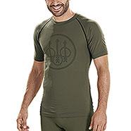 Maglietta Intima Beretta Body Mapping Warm Green M/C