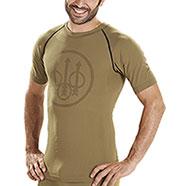 Maglietta Intima Beretta Body Mapping Warm Tan M/C