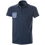 Polo Jersey Blu Denim/Oxford