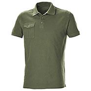 Polo Piquet Pocket Army Green