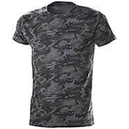T-Shirt Camouflage Grey
