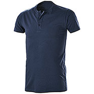 T-Shirt Serafino Navy