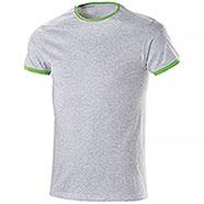 T-Shirt Trendy Mélange Green Fluo