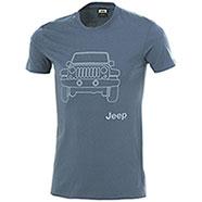 T-Shirt Jeep Vehicle Indigo