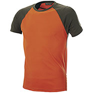 T-Shirt Kalibro Tech Green/Orange