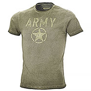 T-Shirt Kalibro Vintage Army Green