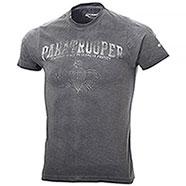 T-Shirt Kalibro Vintage Paratrooper Black