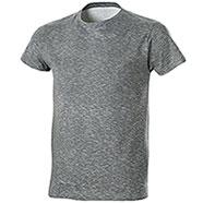 T-Shirt Fire Effect Grey