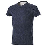 T-Shirt Fire Effect Navy