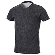 T-Shirt Fire Effect Black