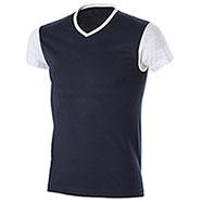 T-Shirt Trendy Bicolor Navy Grey